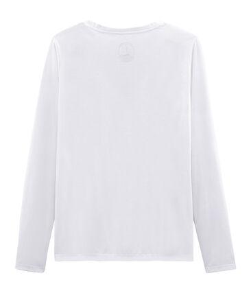 Women's long-sleeved sea island cotton t-shirt