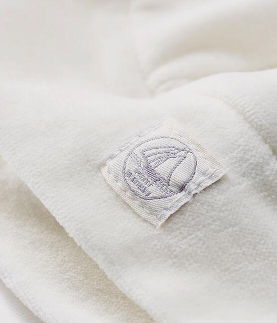 Newborn Babies' Rib Knit Bonnet Marshmallow white