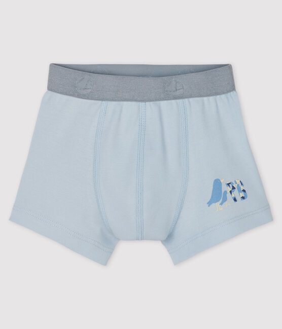 Boys' boxer shorts Fraicheur blue