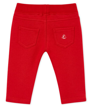 Baby boy's cotton sweatshirt trousers