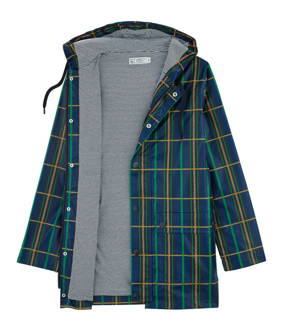 Unisex Raincoat Limoges blue / Multico white