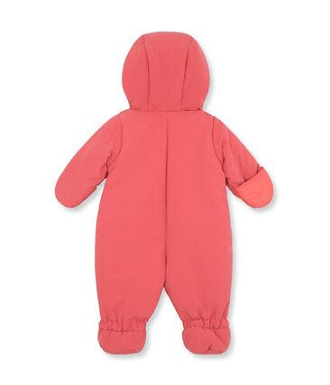 Mixed baby's microfibre snowsuit