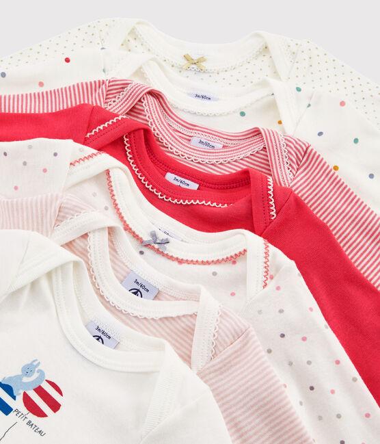 Baby Girls' Long-Sleeved Bodysuits - 7-Piece Surprise Set . set