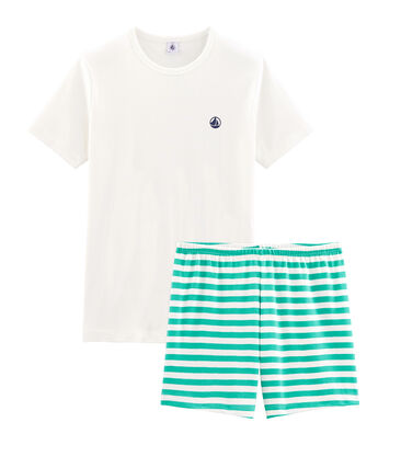 Boys' Ribbed Short Pyjamas null