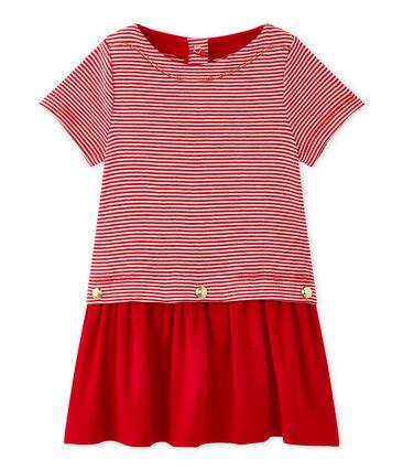 Baby girl's milleraies-striped dress