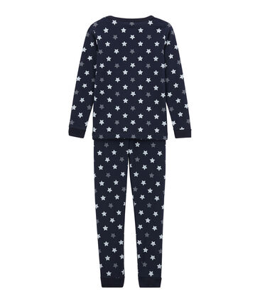 Little boy's fitted pyjamas.