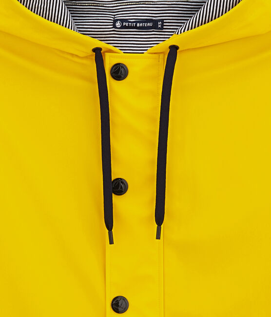 Iconic Unisex Raincoat Jaune yellow