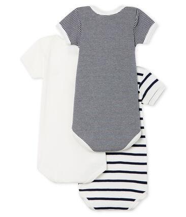 Unisex Babies' Short-Sleeved Bodysuit - Set of 3