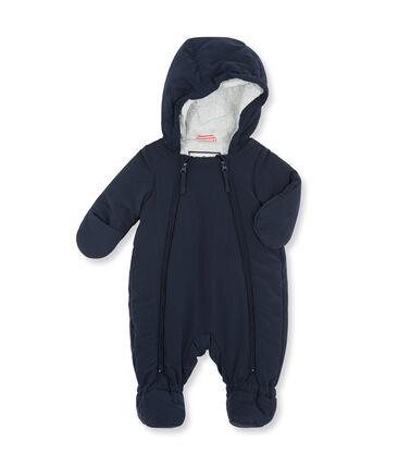 Unisex Baby Microfibre Snowsuit Abysse blue