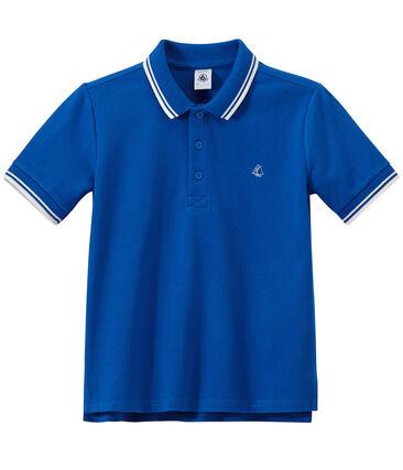 408dcdbe4dd Boys' polo shirt in piqué jersey | Petit Bateau