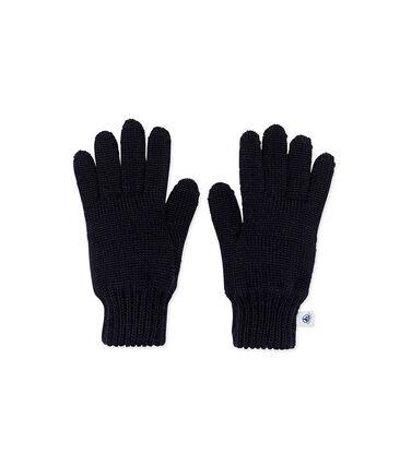 Boys' Gloves Smoking blue