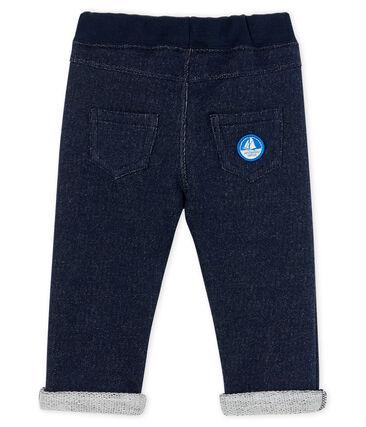 Baby Boys' Fleece Trousers Smoking blue