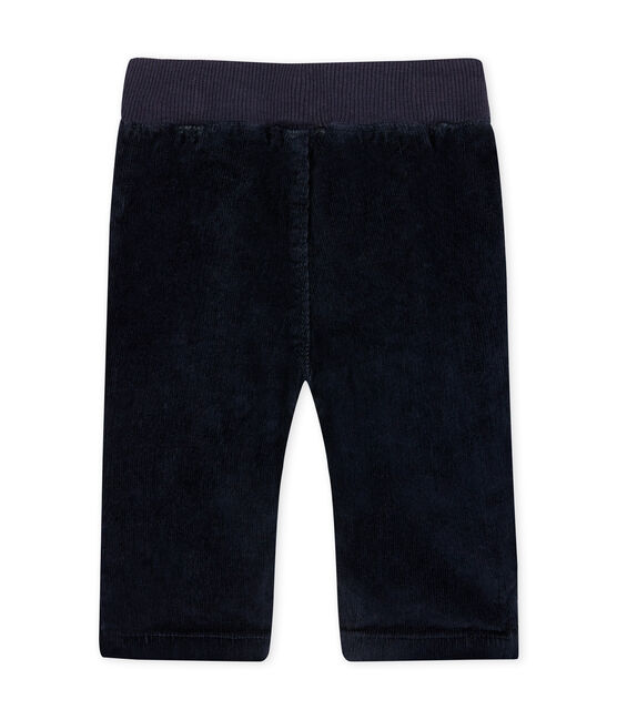 Baby boy's lined stretch corduroy trousers SMOKING