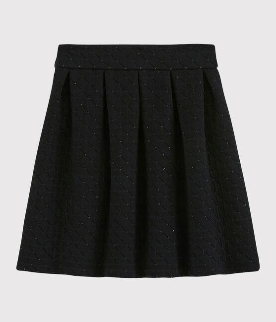 Women's skirt NOIR/ARGENT