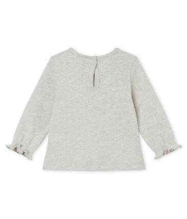 Baby girl's ruffled blouse