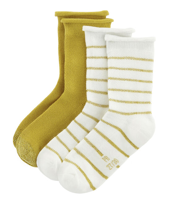 Girls' Socks - 2-Piece Set . set