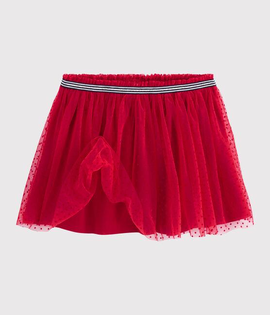Girls' Tulle Skirt Terkuit red