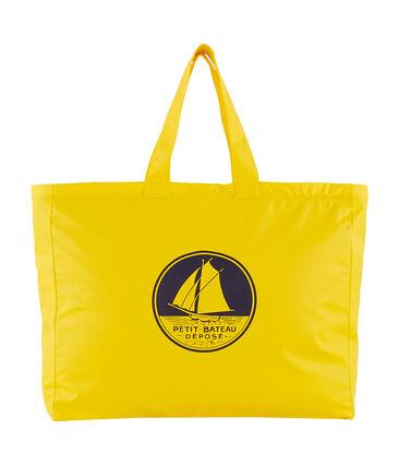 Plain coloured shopping bag Jaune yellow