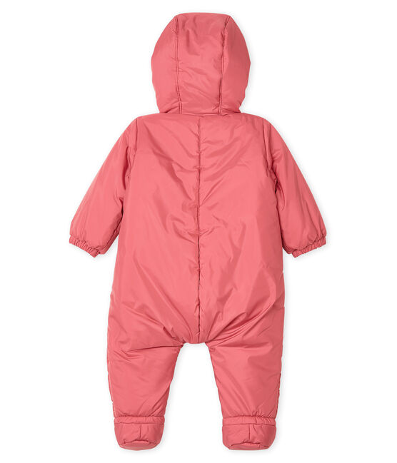 Unisex Babies' Snowsuit Cheek pink