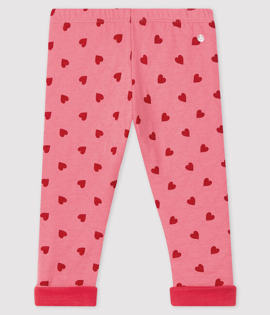 Baby girl's trousers with motif CHEEK/TERKUIT