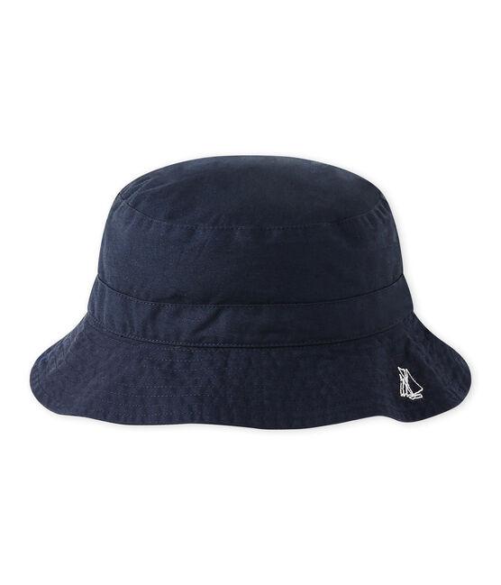 Baby boys' twill bucket hat Smoking blue