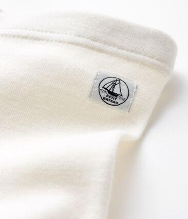 Wool and cotton babies' underwear Marshmallow white