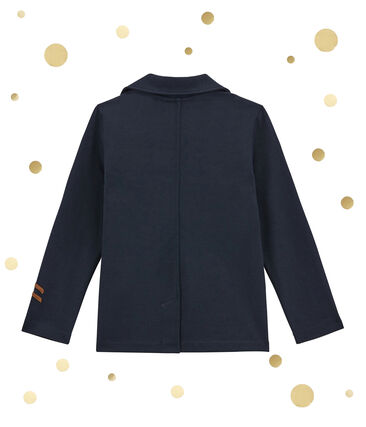 Boy's jacket in a structured knit