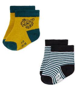 Baby boys' socks - pack of 2