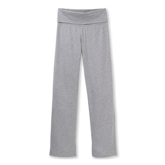 Women's plain Lycra jersey dance pants Poussiere Chine grey