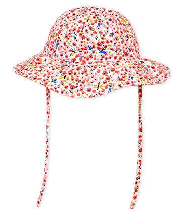 Baby girls' printed hat