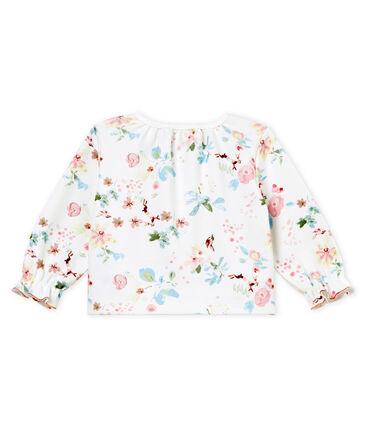 Baby girls' printed cardigan