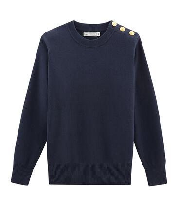 Women's Pullover Smoking blue