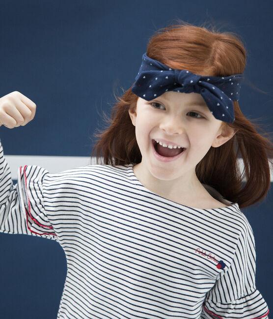 Girls' Hairband Haddock blue / Multico white