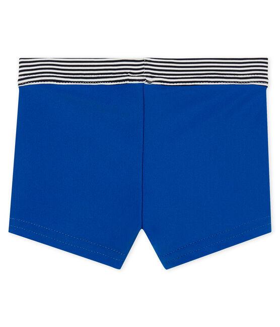 Baby boys' plain swimming trunks Riyadh blue