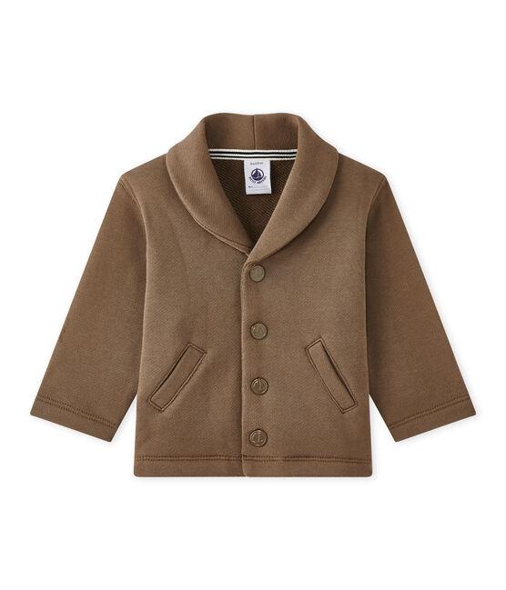 Baby Boys' Fleece Jacket Shitake brown