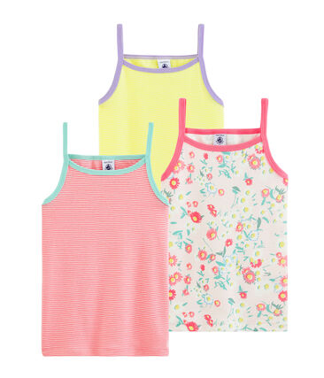 Girls' Strappy Tops - 3-Piece Set . set