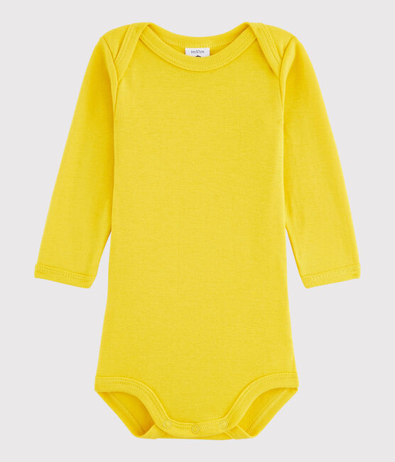 Unisex Babies' Long-Sleeved Bodysuit HONEY
