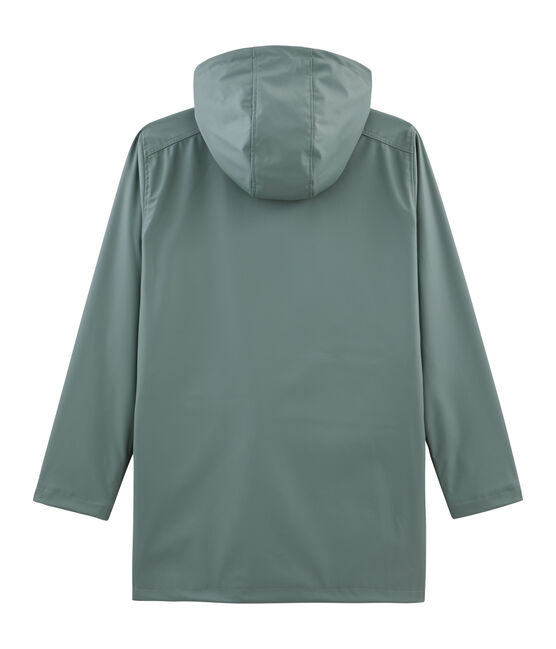 Unisex Iconic Waxed Coat Thuya green