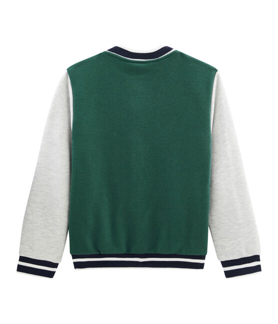 Boys' Baseball Jacket Sousbois green