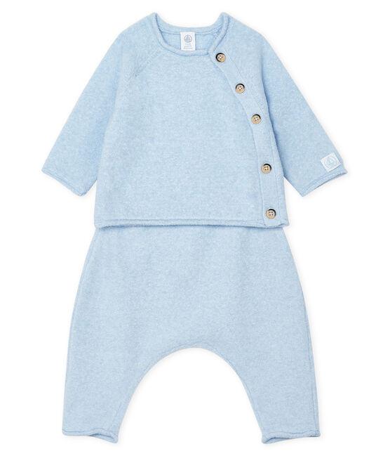 Babies' Clothing in Cotton/Merino Wool/Polyester - 2-Piece Set TOUDOU