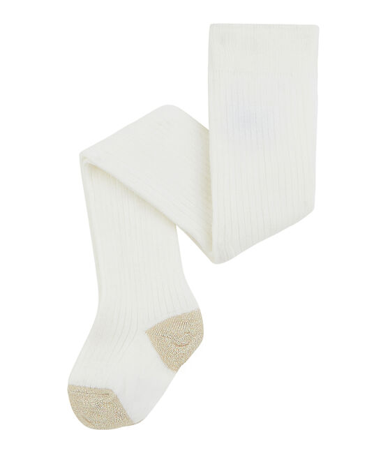 Baby Girls' Tights Marshmallow white