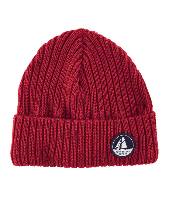 Unisex Woolly Hat Terkuit red
