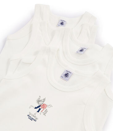 Surprise pack of 4 vests for boys