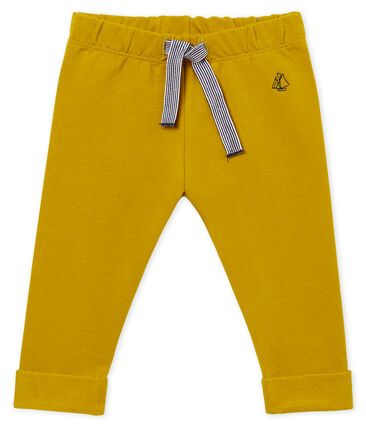 Baby boys' plain light fleece trousers