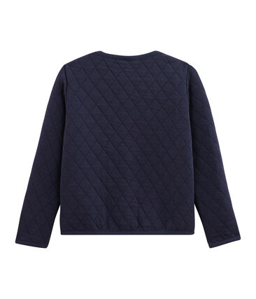 Girls' Cardigan Smoking blue