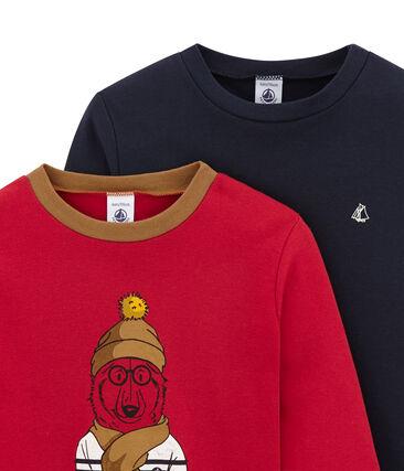 Set of 2 boy's T-shirts