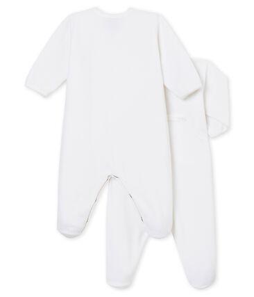 Baby's sleepsuit duo