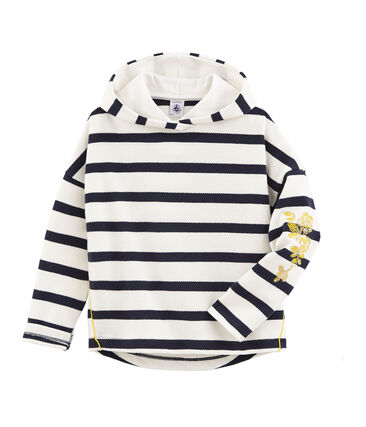 Girls' Hooded breton Top