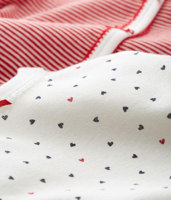 Baby Girls' Sleepsuit - Set of 2 . set