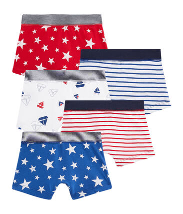Boys' Boxer Shorts - Set of 5